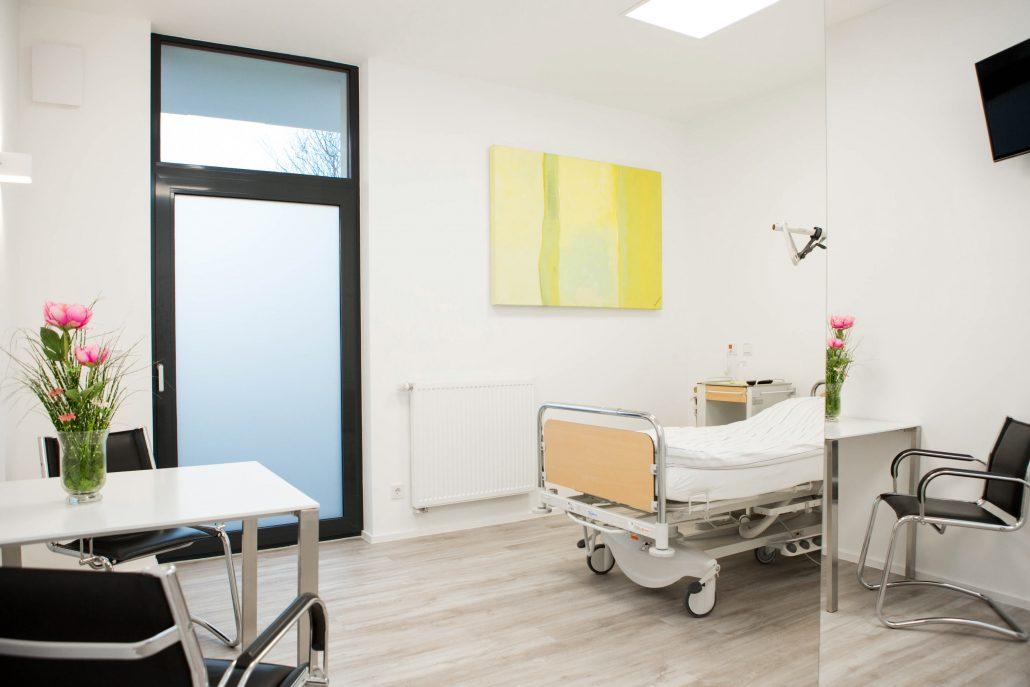 Patientenzimmer VIVA Aesthetic Hair