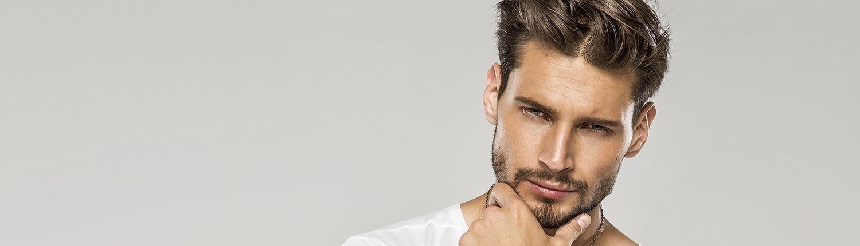Mann Haarpigmentierung